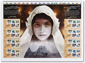 HAUNTED COIN, UNCUT STAMP SHEET AND SOUVENIR SHEET Windsor Region Ontario image 2