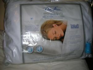 t NEW - CHIROFLOW BED WATER BASE PILLOW