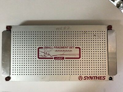 Synthes Lc-dcp Small Fragment Sterilization Tray