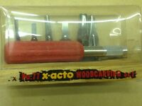 #77 x-acto woodcarving set
