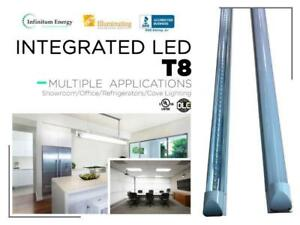 Integrated LED T8