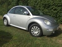 2002 VW BEETLE - LONG MOT - SUPERB DRIVE - CLEAN - RELIABLE - RECEIPTS FOR WORK