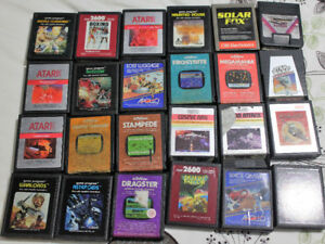 Atari 2600 Games - 91 games only a few duplicates - Less than $2