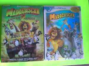 DVD 's Rio 2 - up - madagascar 1 & 2 SEALED Ice age Puss & boots