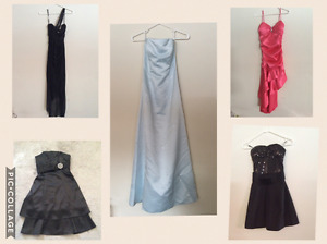 Size S and XS Grad Dresses - $10 to $60