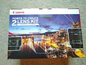 Canon Portrait & Travel Lens Kit with 50mm f/1.8 and 10-18mm STM