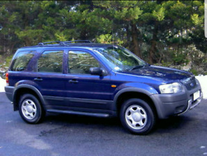 Blue Ford Escape 2004