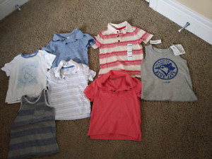 Old Navy boys tops - size 2T