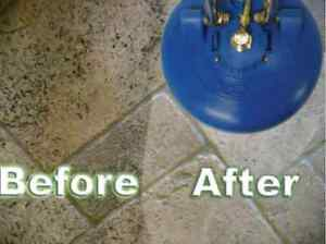 Ceramic grout cleaning concrete& carpet cleaning VCT Cambridge Kitchener Area image 5