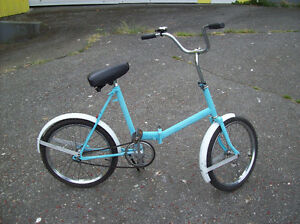 VINTAGE FOLDING BICYCLE