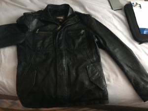Danier leather jacket size small