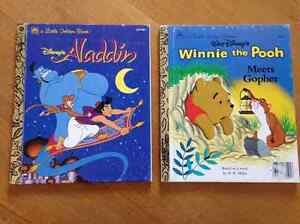 For Sale: Set of 2 Disney Books: Aladdin & Winnie the Pooh