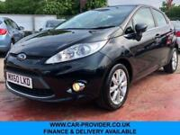 2011 FORD FIESTA ZETEC 1.4 2 KEYS LONG MOT 5DR 78 BHP