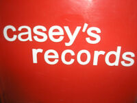 CASEY'S RECORDS     Buys Vinyl Records and more....