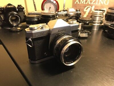 Kowa SETR Vintage 35mm camera With 50mm F1.9 Lens