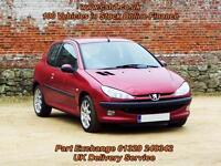 2003 03 PEUGEOT 206 1.4 VERVE 3D 74 BHP