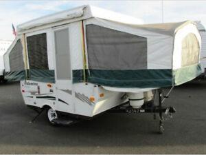 Recherche toit de tente roulotte