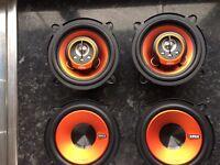 Edge speakers
