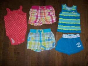 The Children's Place Summer Clothing, Girls 12 months