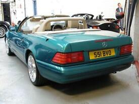 MERCEDES SL500 5.0 V8 Convertible Automatic Hard Top Petrol 1998 (S)