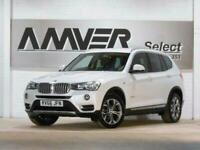 2016 BMW X3 2.0 XDRIVE20D XLINE 5d 188 BHP Estate Diesel Automatic