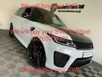 2020 Land Rover Range Rover Sport 5.0 SVR 5DR AUTOMATIC Estate Petrol Automatic