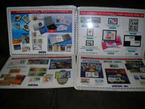 30+ Canada Post Office Counter Mats - 1996 to 2000