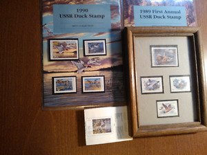 USSR and Canadian duck stamps