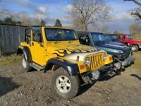 2002 Jeep Wrangler TJ Sport 4L 2dr Soft top 2002 Yellow 4x4 Petrol Automatic
