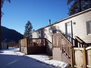 Mobile home for sale in peaceful Lower Nicola