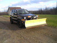 2006 Jeep Liberty VUS,  CRD diesel avec chasse neige fisher