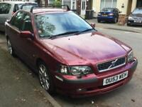 2003 VOLVO S40 2.0 T Sport 4dr spares or repair px car