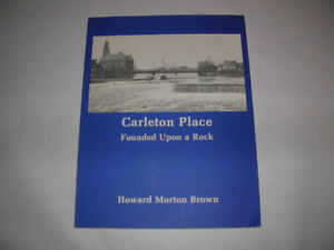 N.O.S. BOOK, CARLETON PLACE, FOUNDED ON A ROCK