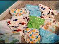 10 giggle life cloth diapers