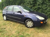FORD FOCUS - 1 YEARS MOT - 1.4L - ECONOMICAL - RELIABLE