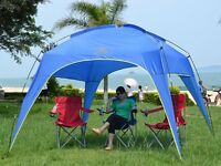 Sun shelter or shade tent
