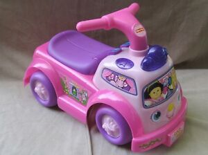 Fisher Price Pink Push Car