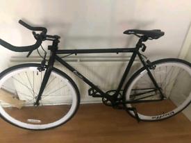 Quella Nero Fixie Bike - White