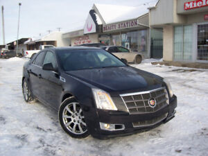 ##2010 CADILLAC CTS+4, AWD, BLACK ON BLACK, CLEAN##
