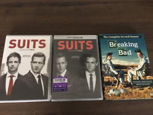 Séries TV DVD Suits S. 1 et 2 - Breaking Bad S. 1