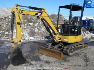 2015 Caterpillar 303E CR Mini Excavator