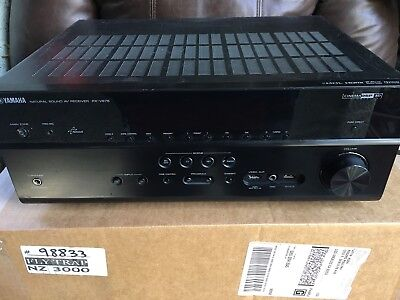 Yamaha RX-V675 7.2 Channel Network A/V Surround Sound Amplifier as is read