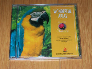 """Wonderful Arias"" CD - Various Operatic Artistes (1999)"