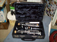 VINTAGE BOOSEY AND HAWKES CLARINET IN CASE