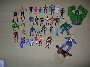 Action Figures Toys Mix Lot