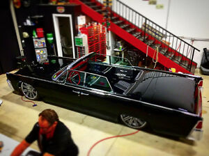 Frame off 4 year restoration Resto Mod 1964 Lincoln continental