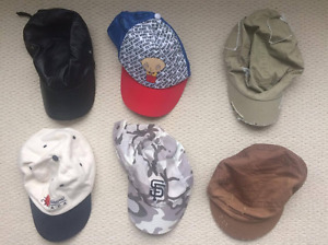 6 Hats Leather Family guy giants montreal SF baseball cap