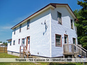 Triplex in Downtown Shediac with 5% Return on Investment