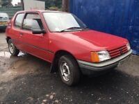 1989 Peugeot 205 XLD 3 Door Hatchback ***REDUCED FOR A QUICK SALE GRAB A BARGAIN***