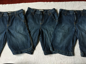 3 Old Navy Jean Shorts size 10